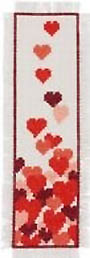 Hearts Bookmark Kit