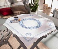Classic Blue Tablecloth