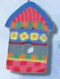 1123 Summer Birdhouse - Just Another Button Co