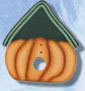1124 Pumpkin Birdhouse - Just Another Button Co