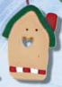 1125 Holiday Birdhouse - Just Another Button Co