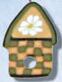 1126 Daisy Birdhouse - Just Another Button Co