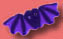 1137 Purple Bat - Just Another Button Co