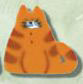 1141 Di's Cat - Just Another Button Co