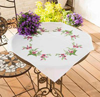 Pink Fuchsia Tablecloth