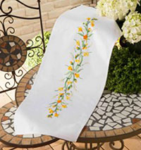 Buttercup Border Table Runner