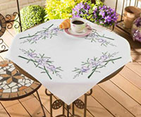 Purple Cala Tablecloth