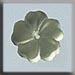 T12005- 5 Petal Flower - Matte Jonquil