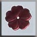 T12008 - 5 Petal Flower - Matte Rose