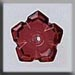 T12009 - 5 Petal Dim Flower - Ruby
