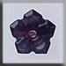 T12011 - 5 Petal Dim Flower - Amethyst Moonstone