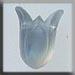 T12023 - Large Tulip - Matte Opal