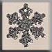 T12035- Small Snowflake - Bright Crystal
