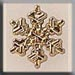 T12036 - Small Snowflake - Gold