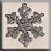T12037 - Medium Snowflake - Bright Crystal