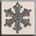 T12039 - Large Snowflake - Bright Crystal