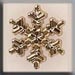 T12040 - Large Snowflake - Gold
