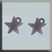 T12046 - Very Small Domed Star - Matte Rosaline (2)