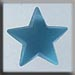 T12048 - Large Domed Star - Matte Aqua
