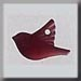 T12050 - Small Bird - Matte Red
