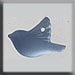 T12051 - Small Bird - Matte Sapphire