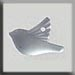T12052 - Small Bird - Matte Crystal