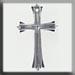 T12054 -  Cross - Crystal
