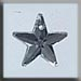 T12061 - 5 Point Star - Crystal