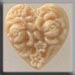 T12066 - Cameo Heart - Ivory
