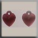 T12073 - Very Small Domed Heart - Matte Comp Rose (2)