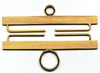 Satin Brass Bellpull Hardware