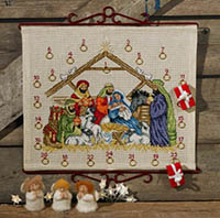 Jesus Child Advent Calendar Kit