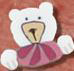 4448 Pink Bear Buddy - Just Another Button Co