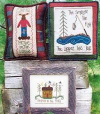 A Cabin, A Moose & A Fish