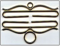 Polished Brass Bellpull Hardware