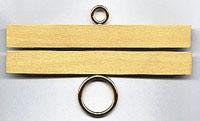 Satin Brass Bellpull Hardware