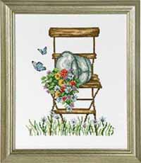 Chair with Flowers Kit