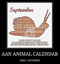 Animal Calendar - September Snail
