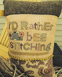 I'd Rather Bee Stitching