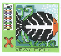 AlphaZoo - X is for X-ray Fish and Xylophone
