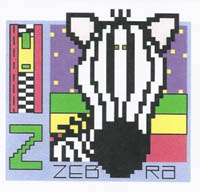 AlphaZoo - Z is for Zebra and Zipper