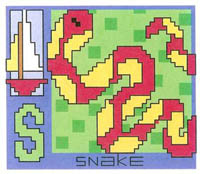 AlphaZoo - S Is For Snake & Sailboat