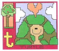 AlphaZoo - T Is For Turtle & Tree