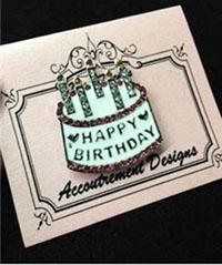 Monster Happy Birthday Magnet