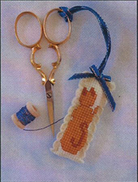 Ginger Kitty Scissor Fob Kit