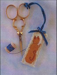 Ginger Kitty Scissor Fob Kit