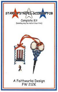Stars & Stripes Scissor Fob Kit