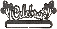 Celebrate Split Bottom Charcoal Bellpull