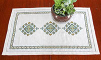 Anatolia Argyle Table Runner