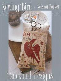 Sewing Bird Scissor Pocket
